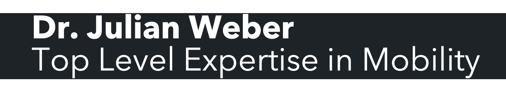 Weber Mobility Logo